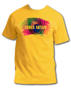 Jay Shree Khatu Shyam T shirt