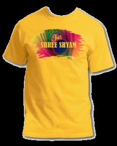 Jay Shree Khatu Shyam T shirt